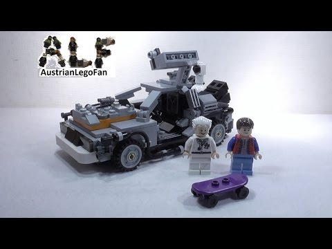 Vidéo LEGO Ideas 21103 : La DeLorean à voyager dans le temps