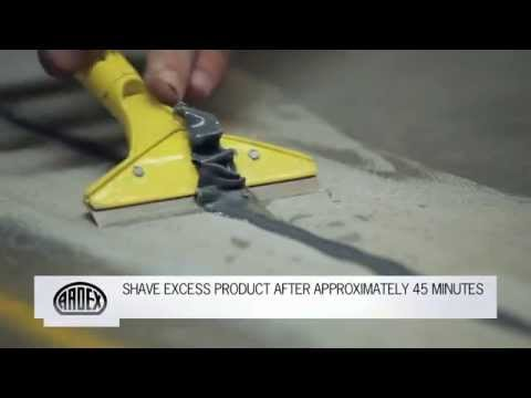 ARDEX RA 54 - Fast Setting Semi-Rigid Polyurea Joint Sealant - Control and Expansion Joint Repair