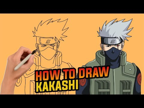 How To Draw Kakashi Hatake Step By Step Easy Drawing Tutorial