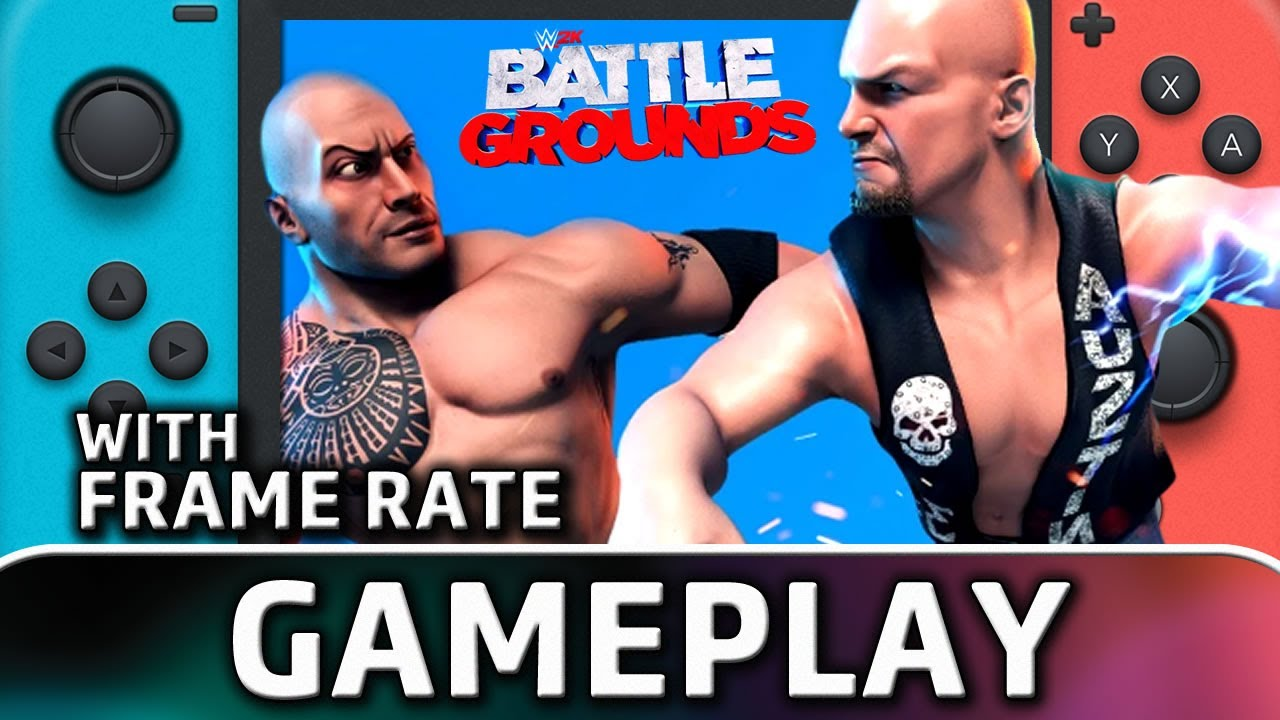 WWE 2K Battlegrounds | Nintendo Switch Gameplay and Frame Rate