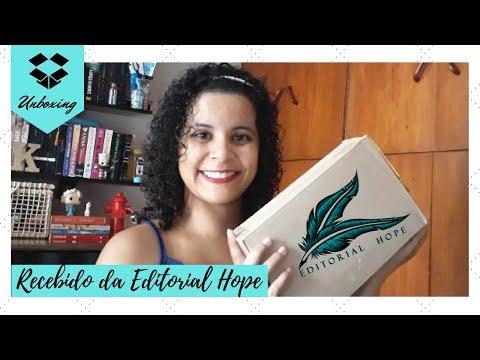 UNBOXING: RECEBIDOS DA EDITORIAL HOPE | Livraneios