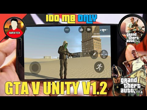How to download GTA 5 unity on android in 100 mb (by ITS