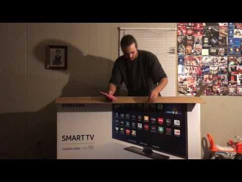 VLOG UNBOXING NEW 58 INCH SAMSUNG SMART TV BLACK FRIDAY VLOG