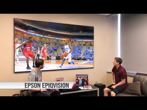 Epson EpiqVision™ Ultra LS500 Laser Projection TV | University of Arkansas Razorbacks Coach