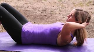 How to Tighten Your Stomach & Sides : Pilates & Core Exercises