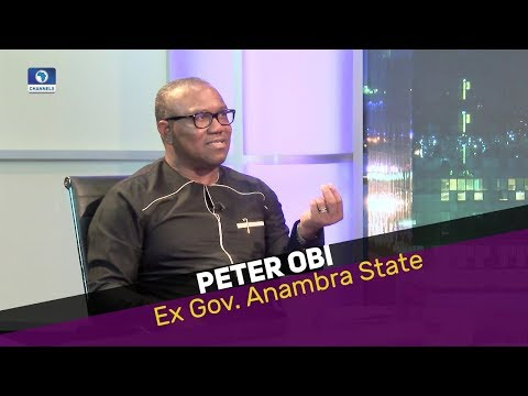 Peter Obi Extended Interview With Okey Bakasi | The Other News | Dec. 7 2017