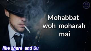 ye mohabbat bhe kia rog hai faraz|| sad dialogue 2019||MK writes