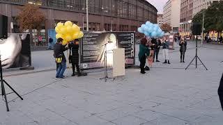 Фотовиставка «Діти у війні». Berlin