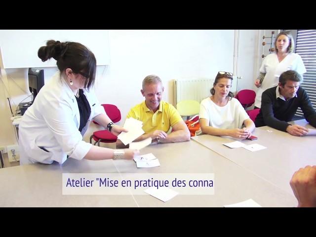 Mon PK et moi : Ateliers pour les patients atteints de la maladie de Parkinson