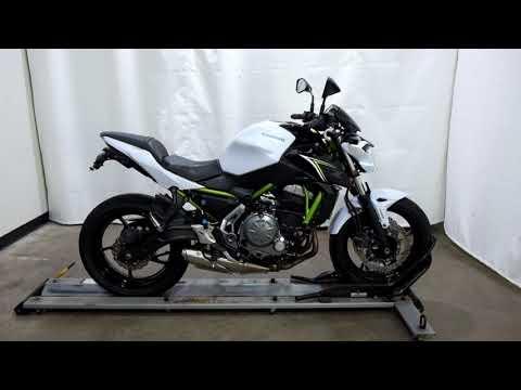2017 Kawasaki Z650 ABS in Eden Prairie, Minnesota - Video 1