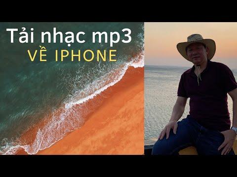 Cách tải nhạc mp3 về iPhone làm nhạc chuông