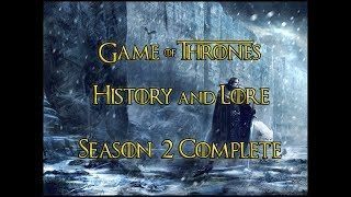 Game of Thrones - History and Lore - Season 2 Complete - ENG and TR Subtitles