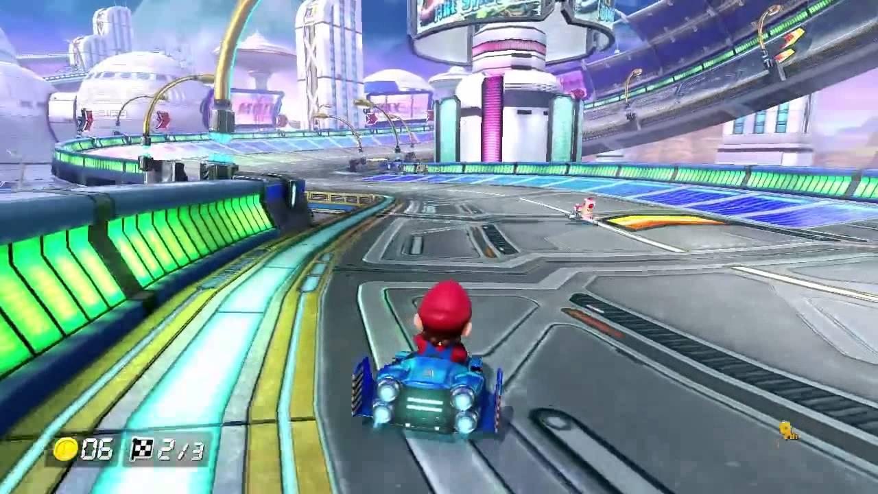 Mario Kart 8's 200cc Mode Looks Kinda Awesome