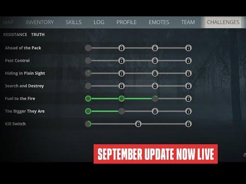 Generation Zero September Update // 1.10