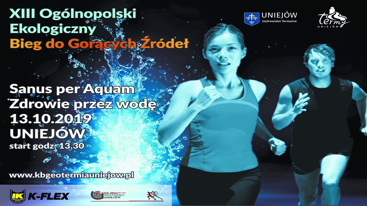 XIII Ogólnopolski Ekologiczny Bieg do Gorących Źródeł – ogłoszenie