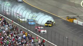 Kevin Harvick's Reaction To Marcos Ambrose's Spin Out | Camping World RV Sales 301, New Hampshire