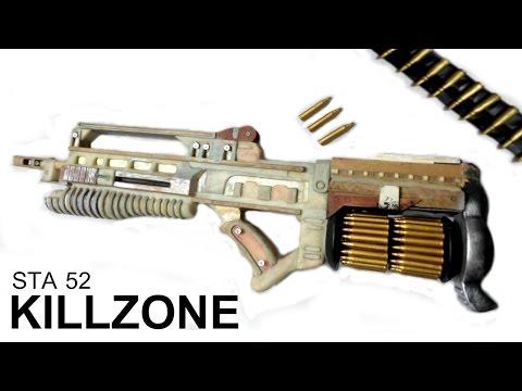 COMO FAZER RIFLE DO KILLZONE STA 52 - PARTE 1