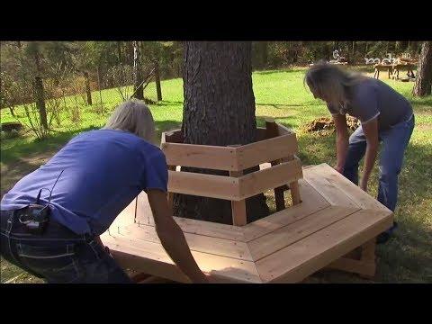 DIY: Baumbank bauen   MDR Garten