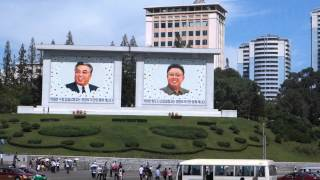 Driving Through the Center of Pyongyang, North Korea