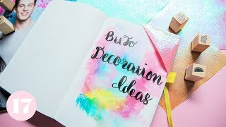 How to Decorate Your Bullet Journal | Plan With Me