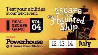 Real Escape Game Vol 4 in Singapore Trailer (90s)