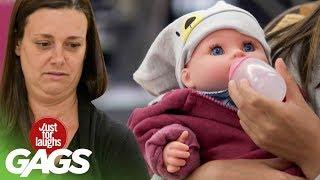 bromas  la muñeca y el bebe