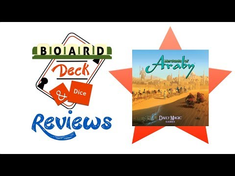 Board, Deck and Dice Review #124 - Merchants of Araby