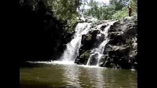 Пильненский водопад в Красногорском районе Алтайского края
