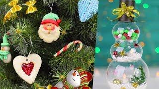 Идеи Новогодних украшений Игрушки на елки к Новому году