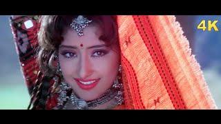 Manisha Koirala 4K Song   Deewani Deewani   First Love Letter   Lata Mangeshkar   Bollywood 4K Song