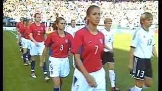 2003 WOMENS WORLD CUP USA vs. Germany (Match 5)