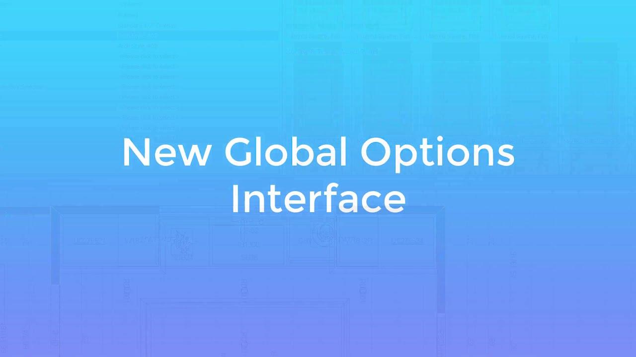 Global Options v10.0.6