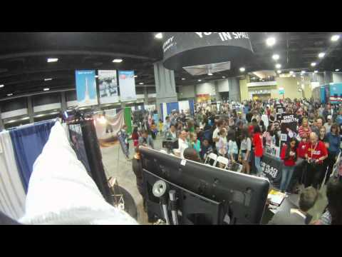 USA Science & Engineering Fair time-lapse 2