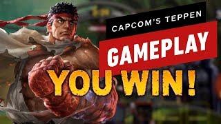 Teppen: Capcom's Card Battle Game (Mega-Man, Rathalos, Dante, Ryu, & Wesker Gameplay)
