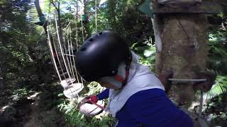 preview picture of video 'Krabi Tree Top Adventure Park at Ao Luek - Green Course'