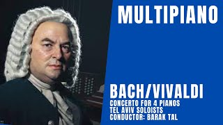 Bach-Vivaldi/Concerto for 4 Pianos/MultiPiano Ensemble
