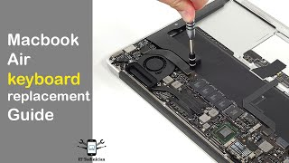 How To: Macbook Air Keyboard Replacement Guide - Apple
