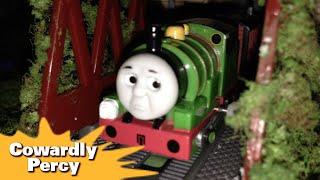 """トーマス プラレール ガチャガチャ おくびょうなパーシー Tomy Plarail Thomas """"Cowadly Percy"""""""