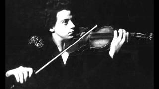 Ginette Neveu -Sibelius Violin Concerto, 1rst mvt (1946)