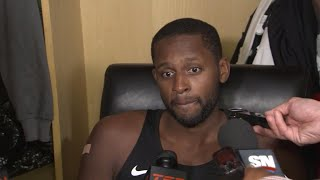 C.J. Miles was pleased with the way the Raptors hit the ground running