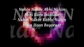 Nahin Nahin Abhi Nahin Lyrics - Movie Jawani Diwani Dj Remix