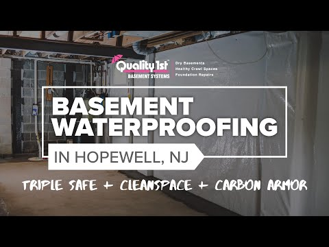 Basement Waterproofing & Foundation Repair In Hopewell, NJ