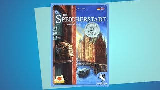 Die Speicherstadt // Brettspiel - Erklärvideo