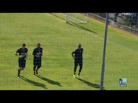 Piacenza Calcio: le immagini del primo allenamento