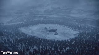 Jon Snow Sorrounded By White Walkers!!!
