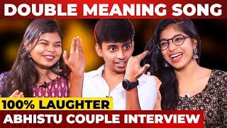 """""""திருட்டுத் தனமா LOVE பண்ணோம்"""" - Abhistu & Cheeky DNA First Couple Interview! Full Fun Guaranteed!"""