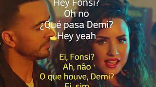 Luis Fonsi   Échame La Culpa   Feat. Demi Lovato   Letra E Tradução