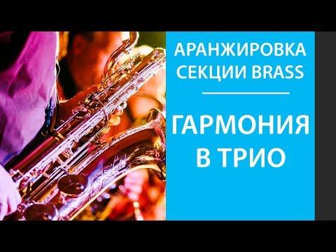 Аранжировка трио секции Brass (часть 1)