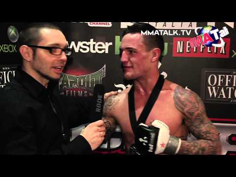 Pat Hill a happy winner at UCMMA 33