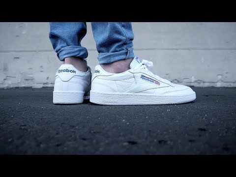 reebok club c 85 SO unboxing review on feet german - one of the best classic sneaker ?